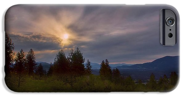 Fall iPhone Cases - Kettle Falls WA iPhone Case by Loni Collins