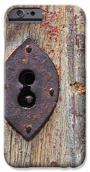 Key hole iPhone Case by Carlos Caetano