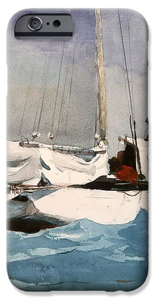 Key West Hauling iPhone Case by Winslow Homer