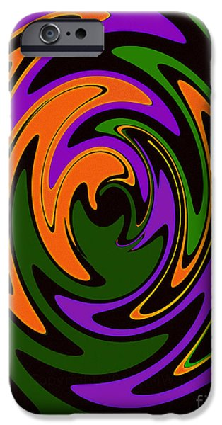Recently Sold -  - Abstract Digital iPhone Cases - Keyhole iPhone Case by Mike Lewis