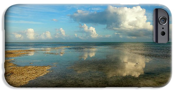 Islamorada iPhone Cases - Keys Reflections iPhone Case by Mike  Dawson