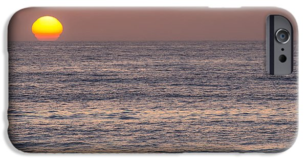 La Jolla Surfers iPhone Cases - Kickin it iPhone Case by Peter Tellone