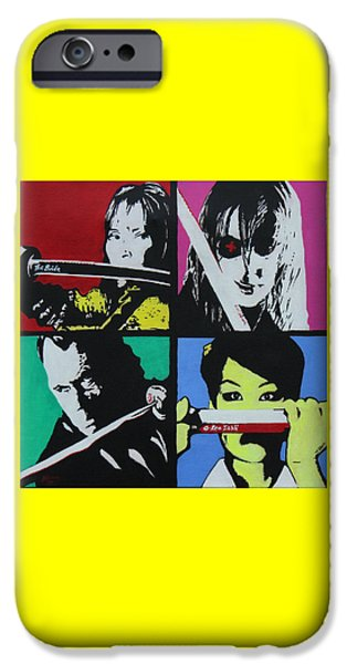 Kill Bill iPhone Cases - Kill Bill  iPhone Case by Martin Williams