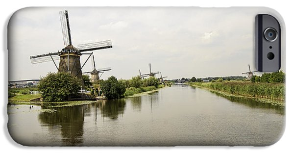 Historic Site iPhone Cases - Kinderdijk No. 12 iPhone Case by Phyllis Taylor