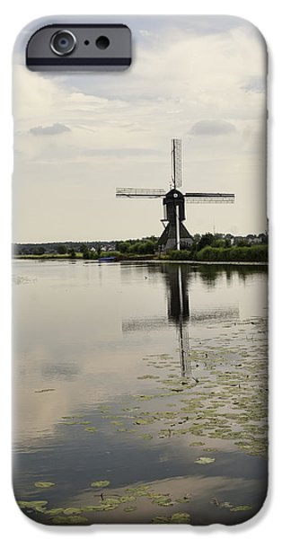 Historic Site iPhone Cases - Kinderdijk No. 13 iPhone Case by Phyllis Taylor