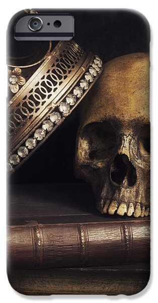 Remains iPhone Cases - King for a Day iPhone Case by Amy Weiss