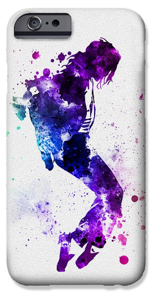 King Of Pop iPhone Cases - King of Pop iPhone Case by Rebecca Jenkins