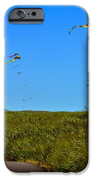 Kites iPhone Case by Robert Bales