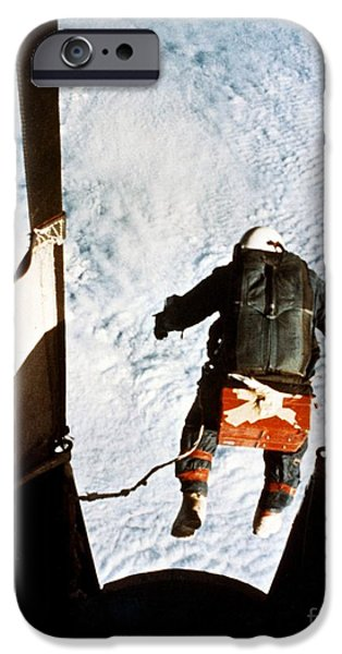 Kittinger iPhone Case by SPL and Photo Researchers