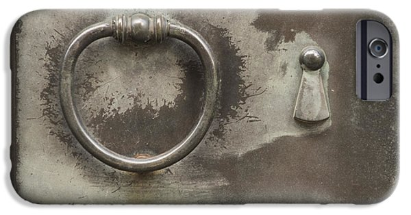 Entrance Door Photographs iPhone Cases - Knocker iPhone Case by Juli Scalzi