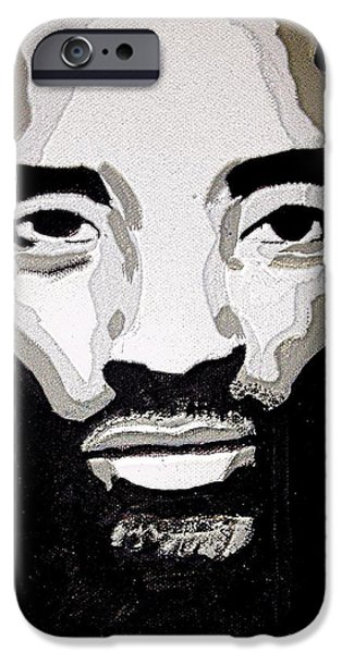 Kobe Paintings iPhone Cases - Kobe Bryant the BlacK Mamba iPhone Case by Breanna Lewis