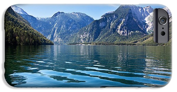 Europe Photographs iPhone Cases - Koenigssee iPhone Case by Nailia Schwarz