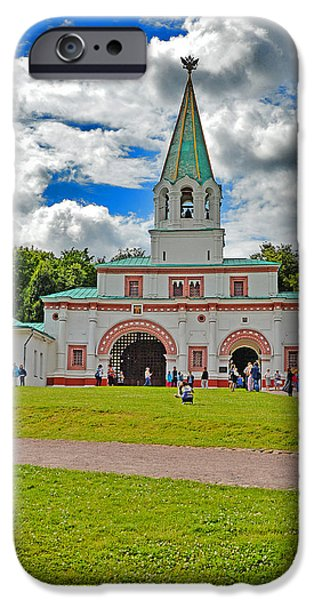 Abnormal iPhone Cases - Kolomenskoye. Moscow. Russia.  iPhone Case by Andy Za