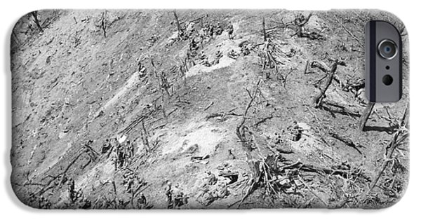 Bloody Battle iPhone Cases - Korean War: Bloody Ridge iPhone Case by Granger