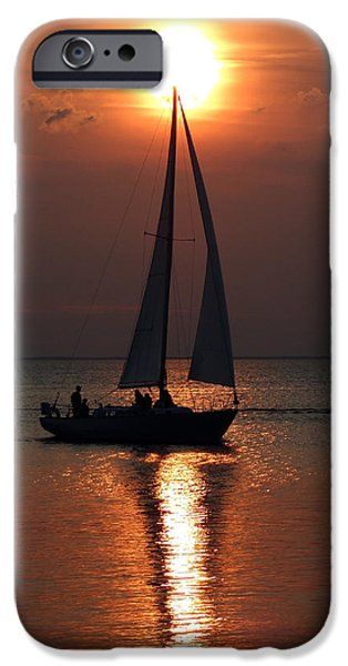 Sailboats iPhone Cases - Kumatage Sail iPhone Case by David T Wilkinson