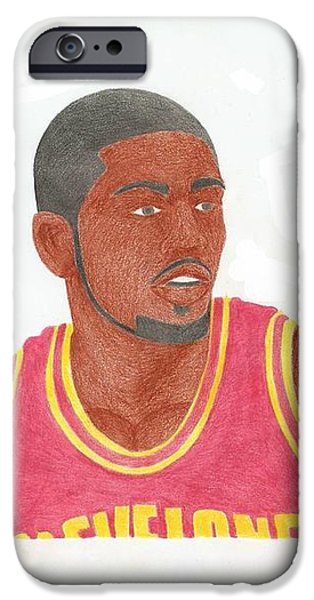 Kyrie Irving iPhone Case by Toni Jaso