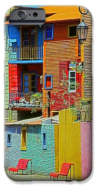 Foto iPhone Cases - La Boca - Buenos Aires iPhone Case by Juergen Weiss