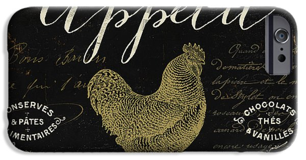 French Signs iPhone Cases - La Cuisine V iPhone Case by Mindy Sommers