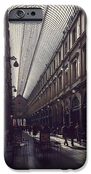 Building iPhone Cases - La Galleria Brussels iPhone Case by Carol Japp