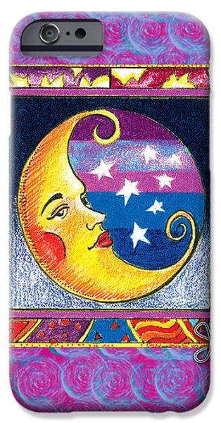 La Luna 1 iPhone Case by John Keaton