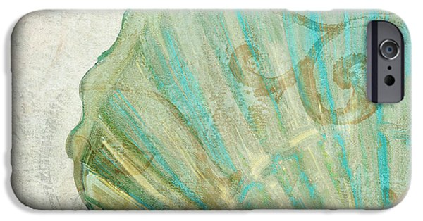 Dunes Paintings iPhone Cases - La Mer II Clam Shell iPhone Case by Mindy Sommers