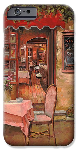 la palette iPhone Case by Guido Borelli