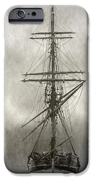 Lady Washington iPhone Cases - Lady Washington iPhone Case by Angie Vogel