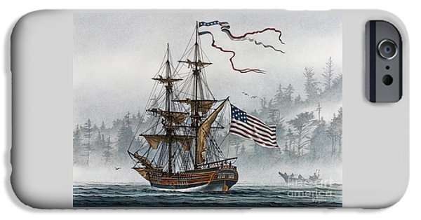 Lady Washington iPhone Cases - Lady Washington iPhone Case by James Williamson