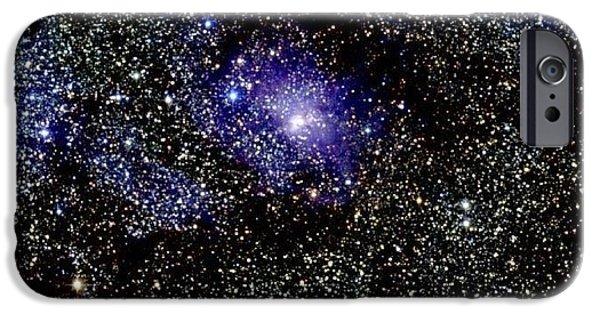 Stellar iPhone Cases - Lagoon Nebula iPhone Case by 2MASS project / NASA