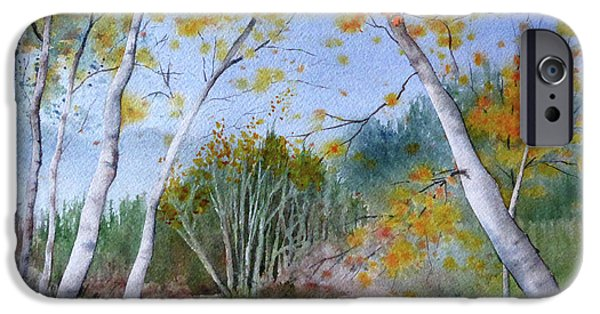 Beach Landscape iPhone Cases - Laguna Canyon iPhone Case by Janice Sobien
