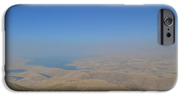 Iraq iPhone Cases - Lake Dukan-Kurdistan  iPhone Case by Magdalena Frohnsdorff
