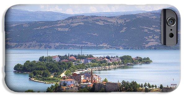 Asien iPhone Cases - Lake Egirdir - Turkey iPhone Case by Joana Kruse