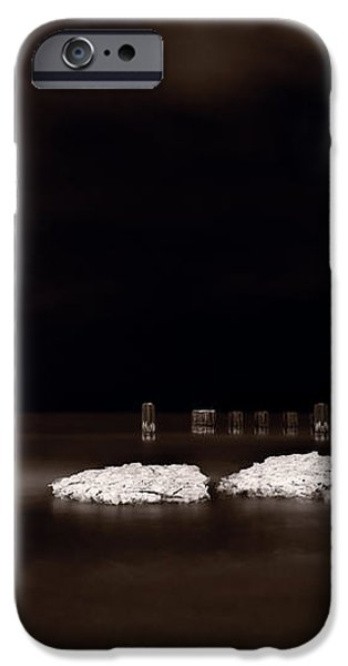 Lake Ice iPhone Case by Steve Gadomski