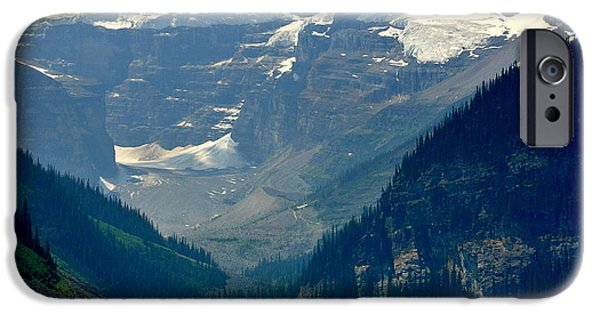 July iPhone Cases - Lake Louise -2015 iPhone Case by Elfriede Fulda