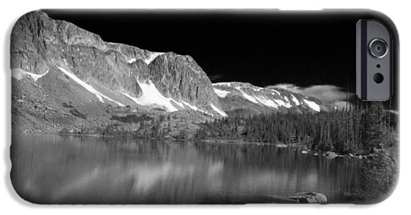 Autumn Glass Art iPhone Cases - Lake Marie and Company iPhone Case by Nena Trapp
