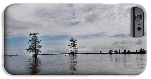 River View iPhone Cases - Lake Marion Sc iPhone Case by Skip Willits