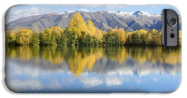 Willow Lake iPhone Cases - Lake Poaka iPhone Case by Robert Green