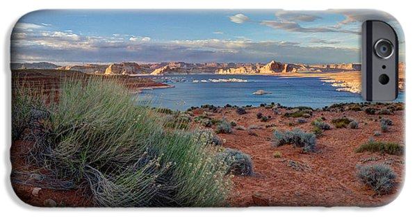 Lake Powell iPhone Cases - Lake Powell Page Arizona iPhone Case by Wayne Moran