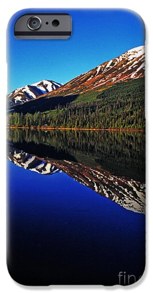 Pm iPhone Cases - Lake Reflection iPhone Case by Thomas R Fletcher