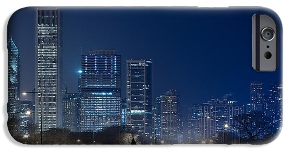Lake Shore Drive iPhone Cases - Lake Shore Drive Chicago iPhone Case by Steve Gadomski