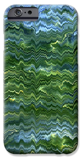 Lake Tahoe Abstract iPhone Case by Carol Groenen