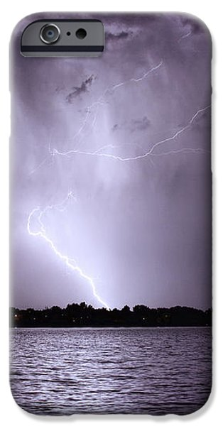 Lake Thunderstorm iPhone Case by James BO  Insogna