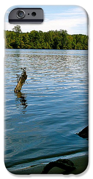 LAKEVIEW   iPhone Case by Debra     Vatalaro