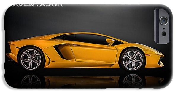 Automotive iPhone Cases - Lamborghini Aventador iPhone Case by Douglas Pittman
