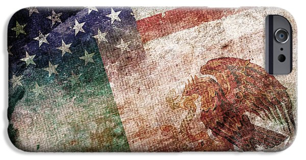 4th July iPhone Cases - Land Of Opportunity iPhone Case by Az Jackson