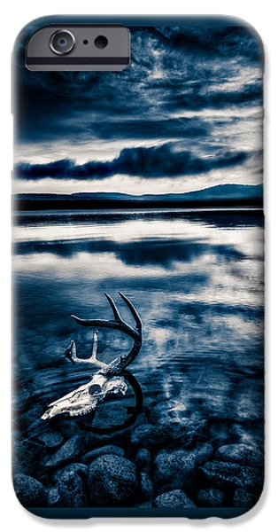Mist iPhone Cases - Land of the Midnight Sun iPhone Case by Trevor Pottelberg