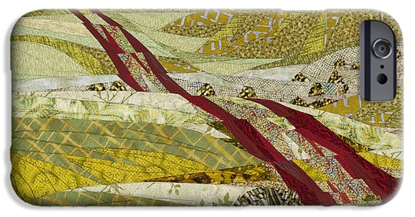 Hills Tapestries - Textiles iPhone Cases - Landmarks iPhone Case by Linda Beach