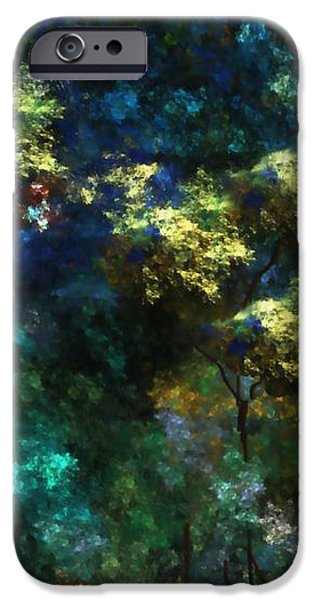 landscape 10-10-09 iPhone Case by David Lane