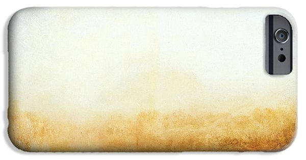 Nature Study Paintings iPhone Cases - Landscape iPhone Case by William Turner