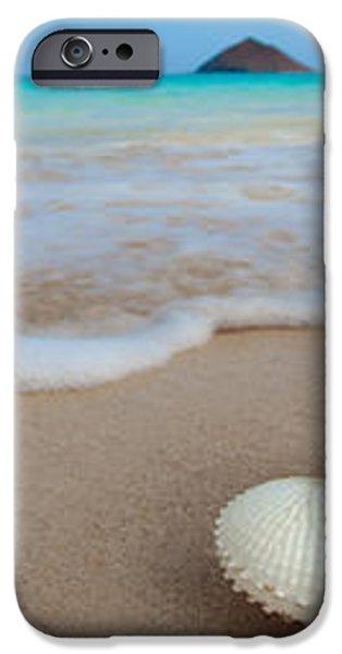 Lanikai Paper Nautilus iPhone Case by Sean Davey